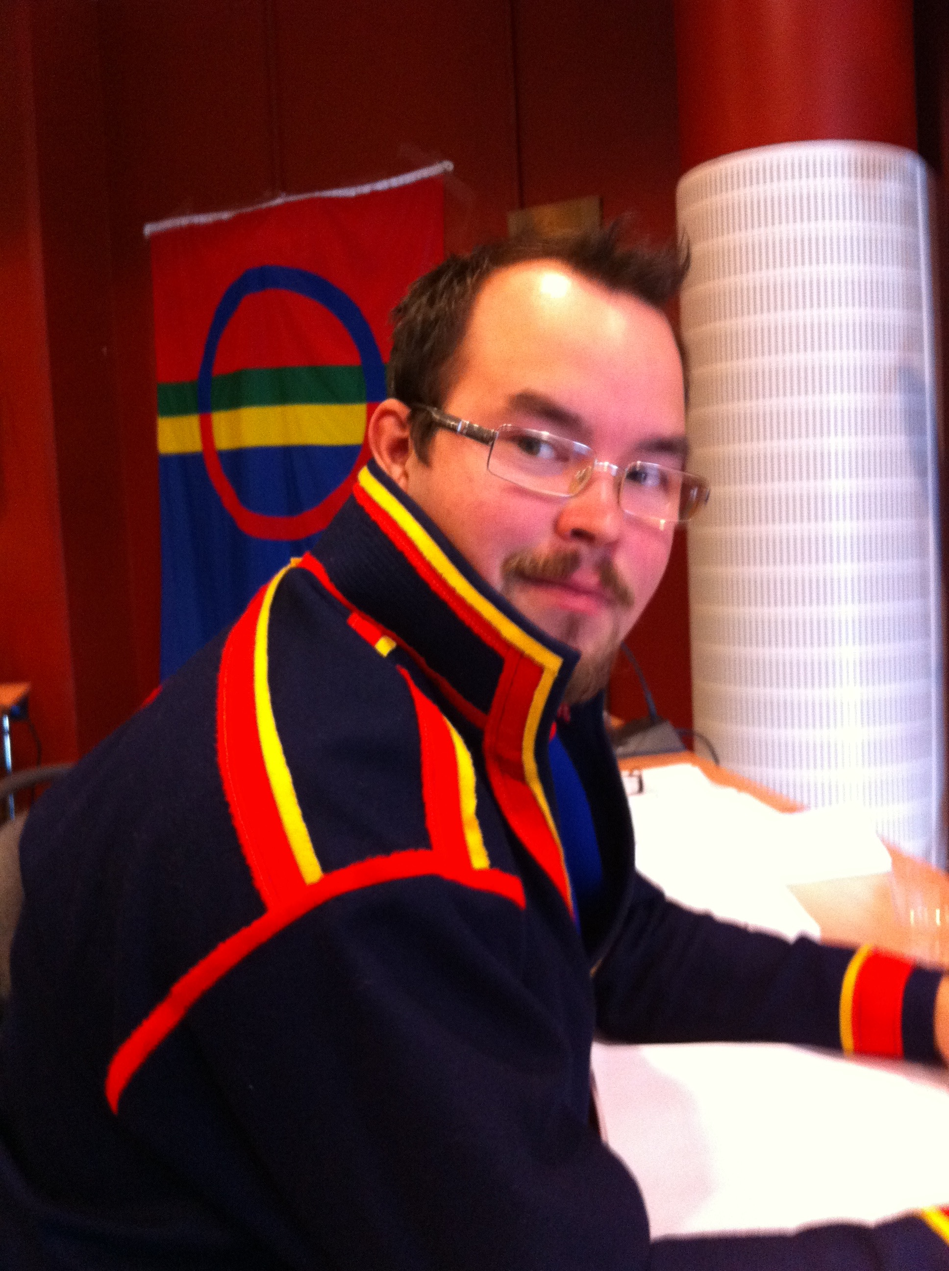 Sametingets ny-valda plenum i Kiruna inleder sitt arbete