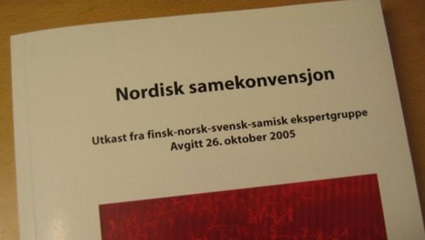 Pressmeddelande om Nordiska samekonventionen