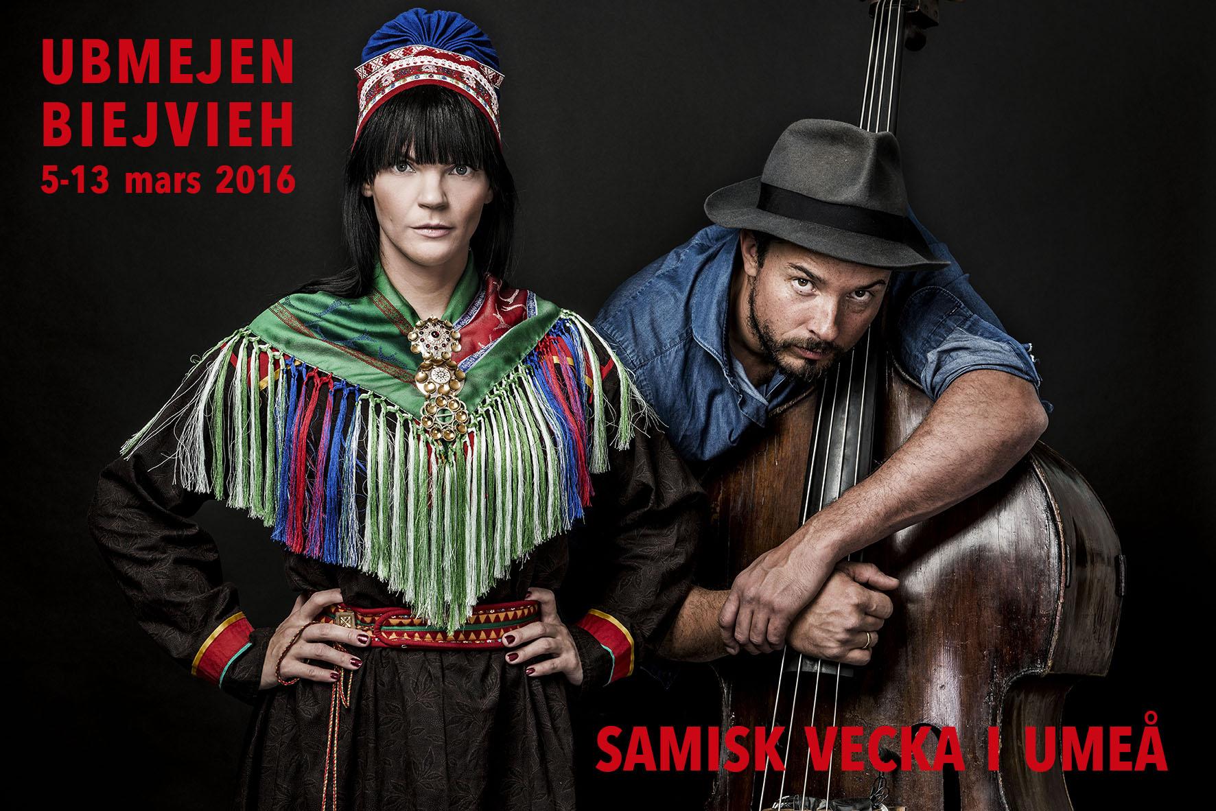 UBMEJEN BIEJVIEH 2016    –   Samiska veckan i Umeå 5-13 mars