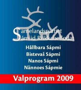 Samelandspartiets valprogram