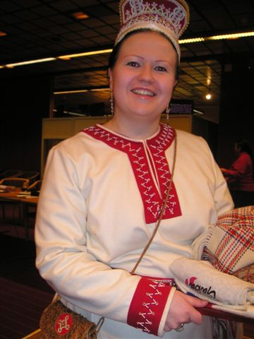 Tina Sanila Aikio vald till ordförande i Sametinget på finsk sida